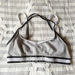 ✨4 for $15✨ strappy Calvin Klein sports bralette